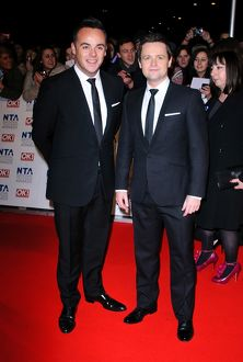 Anthony McPartlin and Declan Donnelly aka Ant and Dec